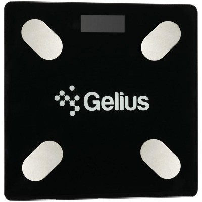 Умные весы Gelius GP-BS001 Black (Bluetooth)
