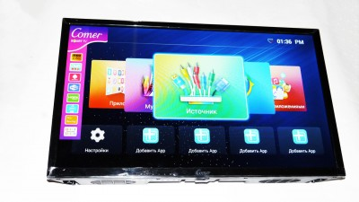 LCD LED Телевизор Comer 24 T2 Smart Tv WiFi Android
