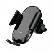 Холдер Baseus Wireless Charger Smart Car Mount Cell Phone Holder (SUGENT-ZN01) Black