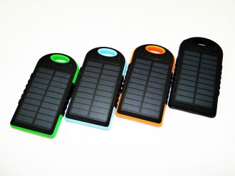 Power Bank Solar Charger 50000 mAh 2USB фонарик