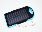 Power Bank Solar Charger 20000 mAh 2USB фонарик