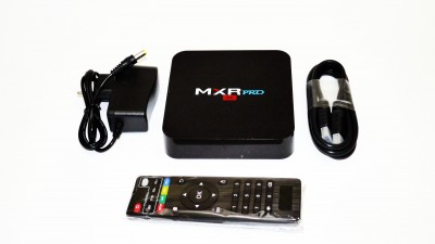 Smart Tv Box MXR PRO DDR 4GB / HDD 32GB