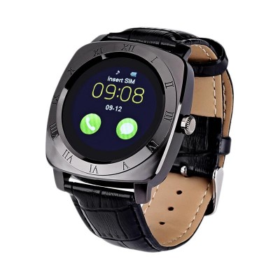 Smart Watch X3 Black (with SIM + MicroSD + Camera)