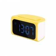 Remax (OR) Clock with 4USB 3.1A RM-C05 Yellow/White
