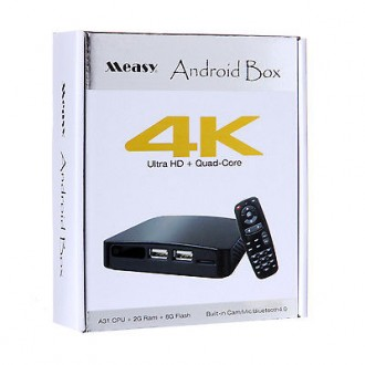 Tv Box Measy B4K Android