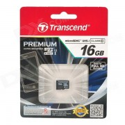 Карта памяти Transcend microSDHC 16GB Class 10 UHS-I Premium (no adapter)