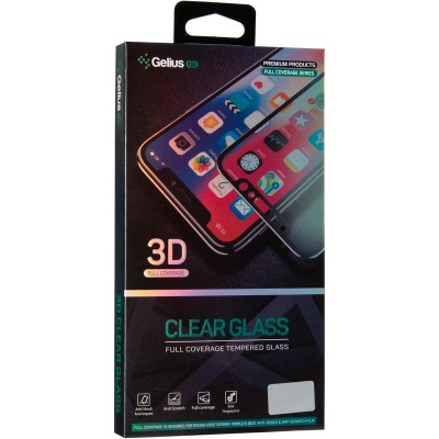 Защитное стекло Gelius Pro 3D for Samsung A507 (A50s) Black