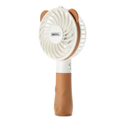 Remax (OR) Fan Teddy Mini (F8) Brown