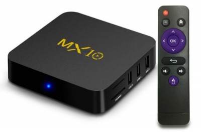 Smart Tv Box Mx10 DDR 4GB HDD 32GB