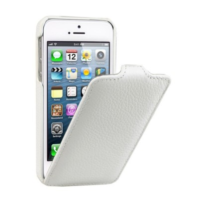 Чехол для iPhone 5 VettiCraft Slim Flip White