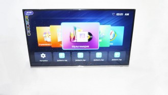 LCD LED Телевизор JPE 39 WiFi Smart TV T2 Android
