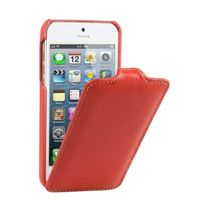 Чехол для iPhone 5 VettiCraft Slim Flip Red