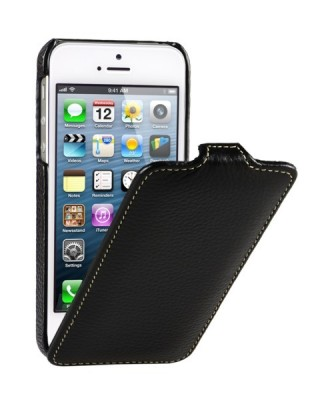 Чехол для iPhone 5 VettiCraft Slim Flip Black