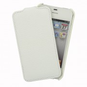 Чехол для iPhone 4S VettiCraft Slim Flip White