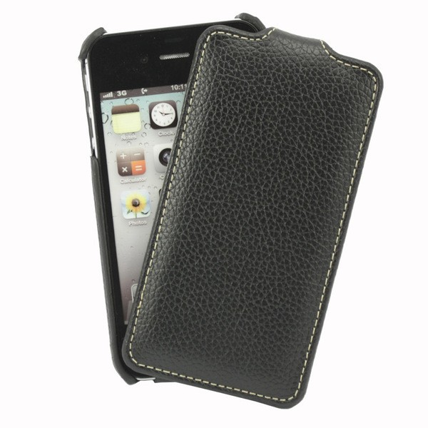 Чехол для iPhone 4S VettiCraft Slim Flip Black