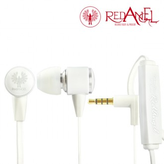 Гарнитура Red Angel In-ear Headphones Heavy Bass White